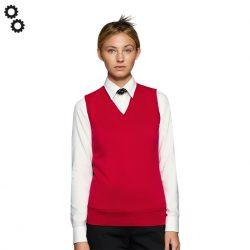 Woman-V-Pullunder Premium-Cotton