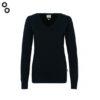 Woman-V-Pullover Premium-Cotton 5