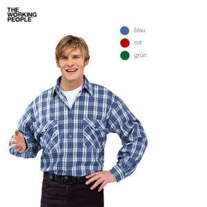 Flanell-Hemd 2001 / Blau