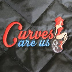 ''Curves are us'' Cabrio Steppjacke