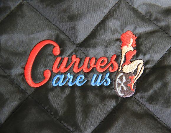 ''Curves are us'' Cabrio Steppjacke