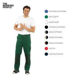 Bundhose Grün/Grün