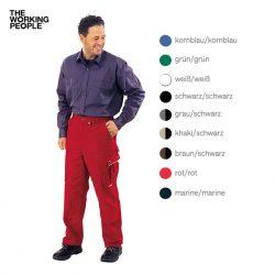 Bundhose Rot/Rot