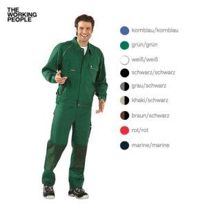 Bundjacke Grün/Grün