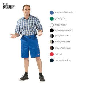 Arbeitsshorts kornblau/kornblau