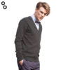Men's V Button Cardigan 2