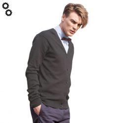 Men's V Button Cardigan
