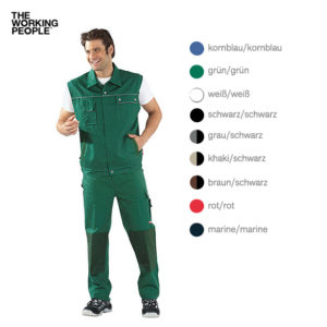 Arbeitsweste Grün/Grün